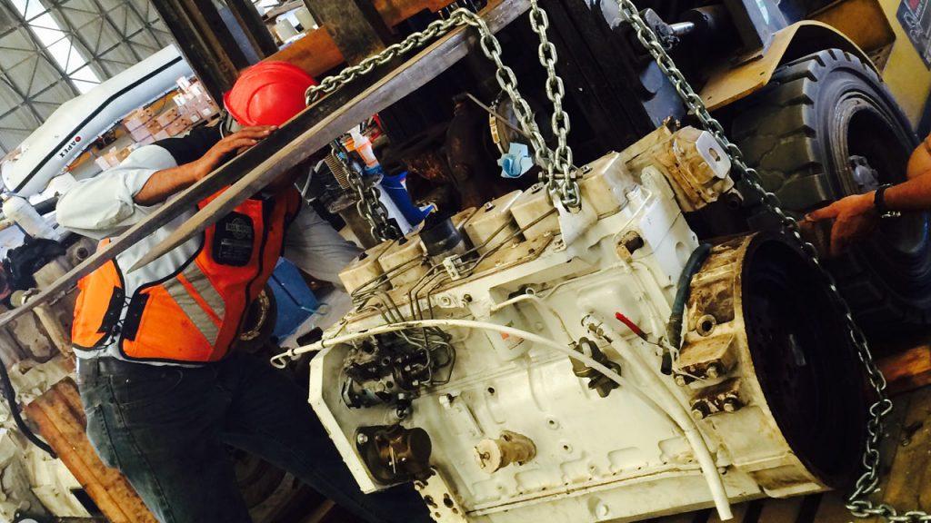 dive boat Engineer job